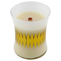 Vonná svíčka WoodWick Bílé ovesné sušenky, 60hodin hoření