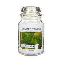 Vonná svíčka Yankee Candle Bílý Čaj, doba hoření 110 - 150 hodin
