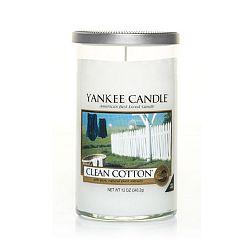 Vonná svíčka Yankee Candle Čistá Bavlna, doba hoření až 90 hodin