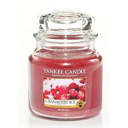 Vonná svíčka Yankee Candle Ledové Brusinky, doba hoření 65 - 90 hodin