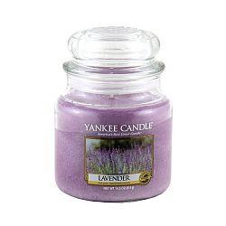 Vonná svíčka Yankee Candle Levandule, doba hoření 65 - 90 hodin