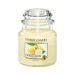 Vonná svíčka Yankee Candle Sicilský Citrón, doba hoření 65 - 90 hodin