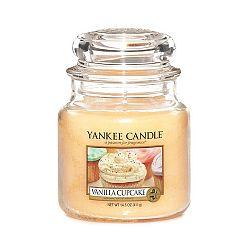 Vonná svíčka Yankee Candle Vanilkový Košíček, doba hoření 65 - 90 hodin