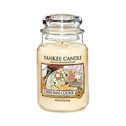 Vonná svíčka Yankee Candle Vánoční Cukroví, doba hoření 110 - 150 hodin