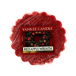 Vonný vosk do aromalampy Yankee Candle Věnec z červených jablíček, doba trvání vůně až 8 hodin