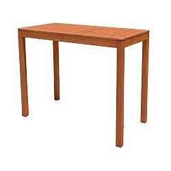 Zahradní barový stolek z eukalyptového dřeva ADDU Palmdale