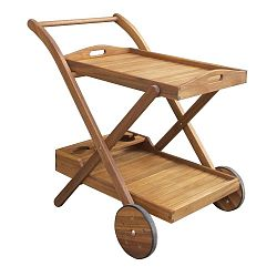 Zahradní servírovací vozík z akáciového dřeva ADDU Henderson