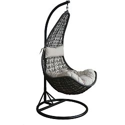 Zahradní závěsné křeslo z umělého ratanu Timpana Swing