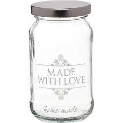 Zavařovací sklenice KitchenCraft Made with Love, 454 ml