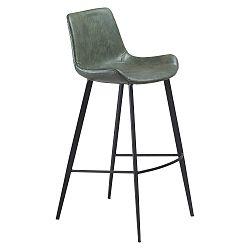 Zelená barová židle DAN–FORM Hype