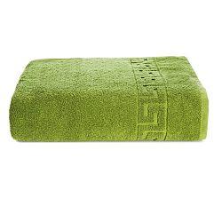 Zelená bavlněná osuška Kate Louise Pauline,70x140cm