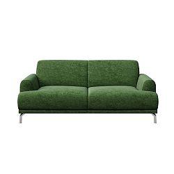 Zelená dvoumístná pohovka MESONICA Puzo