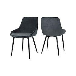 Zelená jídelní židle Canett Merick