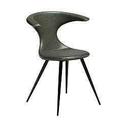 Zelená koženková židle DAN-FORM Denmark Flair