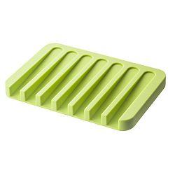 Zelená podložka pod mýdlo Yamazaki Flow