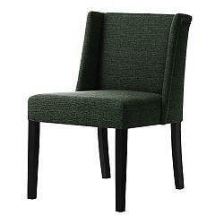 Zelená židle s černými nohami Ted Lapidus Maison Zeste