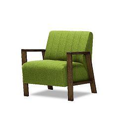 Zelené křeslo Miljä Alti