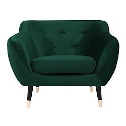 Zelené křeslo s černými nohami Paolo Bellutti Giorgio