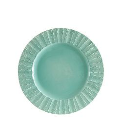 Zelený kameninový dezertní talířek Côté Table Posei