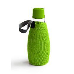 Zelený obal na skleněnou lahev ReTap s doživotní zárukou, 500ml