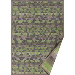 Zelený vzorovaný oboustranný koberec Narma Luke, 140x200cm