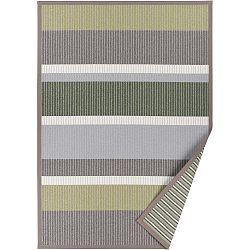 Zelený vzorovaný oboustranný koberec Narma Märdi, 140x200cm