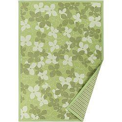 Zelený vzorovaný oboustranný koberec Narma Nurme, 140x200cm