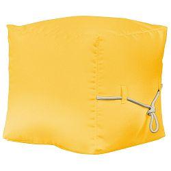 Žlutý puf Sit and Chill Tablas