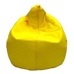 Žlutý sedací vak Evergreen House Droplet