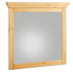 Zrcadlo s dřevěným rámem Støraa Crayton, 70x70cm