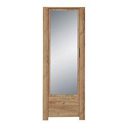 Zrcadlová šatní skříň v dekoru dubového dřeva Germania Castera