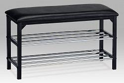 Autronic botník/taburet 83168-13 BK