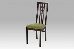 Autronic Dřevěná židle BC-12481 BK, wenge,BEZ SEDÁKU