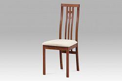 Autronic Dřevěná židle BC-2482 TR3, třešeň
