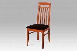 Autronic Dřevěná židle BE810 TR2 třešeň BEZ SEDÁKU
