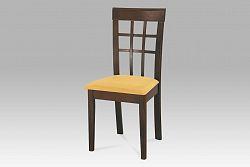 Autronic Dřevěná židle, ořech BE1604 WAL BEZ SEDÁKU