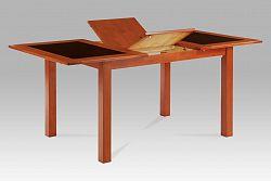Autronic Jídelní stůl dřevo AUT-557 TR2, tř.+sklo