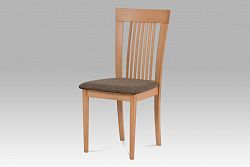 Autronic Jídelní židle BC-3940 BUK3 se sedákem, buk