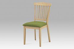 Autronic Jídelní židle BEZ SEDÁKU, bělený dub, C-187 OAK1