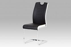 Autronic Jídelní židle DCL-406 BK, černá