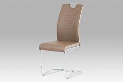 Autronic Jídelní židle DCL-406 COF, hnědá