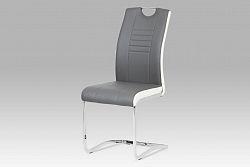Autronic Jídelní židle DCL-406 GREY, šedá