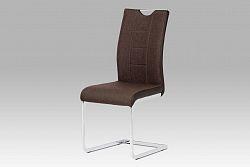 Autronic Jídelní židle DCL-410 BR2, hnědá
