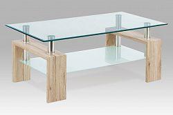 Autronic Konferenční stůl AF-1024 SRE san remo/sklo