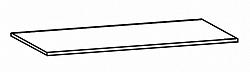 Black Red White Formátka - přířez 90 cm, korpus:WENGE