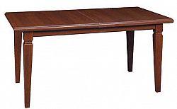 Black Red White KENT, stůl jídelní, ESTO-160, kaštan