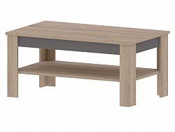 Bog Fran MADAGASKAR B, konferenční stolek, dub sonoma/grafit