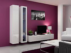 CAMA *Obývací stěna VIGGO 3, bílá/bílý lesk