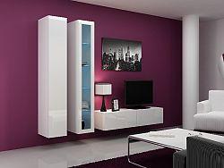 CAMA *Obývací stěna VIGO 10, bílá/bílý lesk
