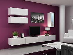 CAMA *Obývací stěna VIGO 12, bílá/bílý lesk